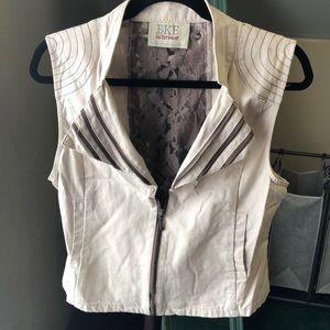 BKE outer wear Tan vest